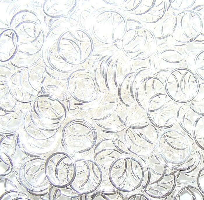 Argola em Prata 950 Fechada 7x0.80 - 10 Peças - PR021  - ArtStones