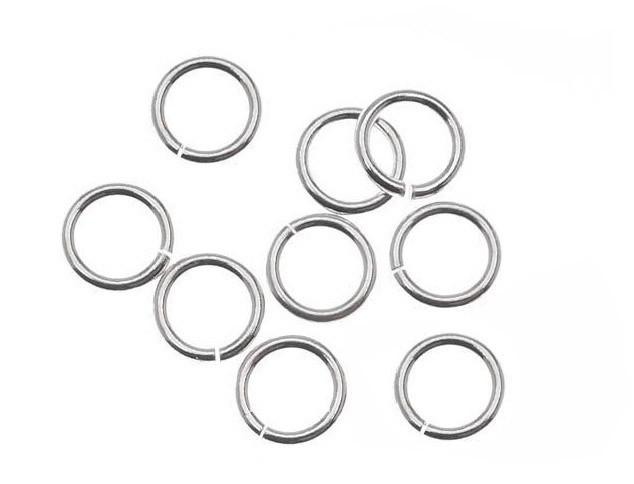 Argola em Prata 950 Aberta 6x0.60 - 10 peças - PR029  - ArtStones