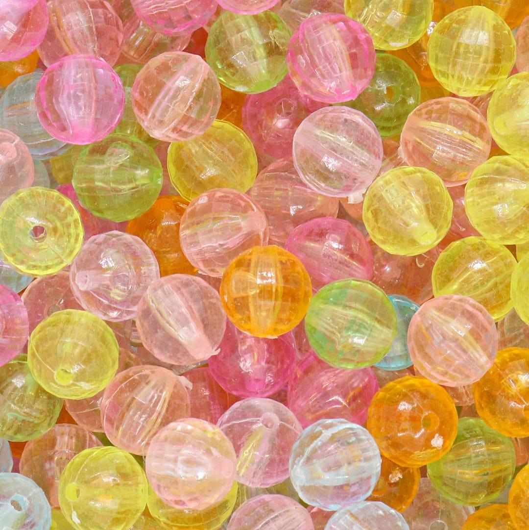 Acrílico Mix Bolhas de Carinho 12MM - 250grs - SOL001  - ArtStones