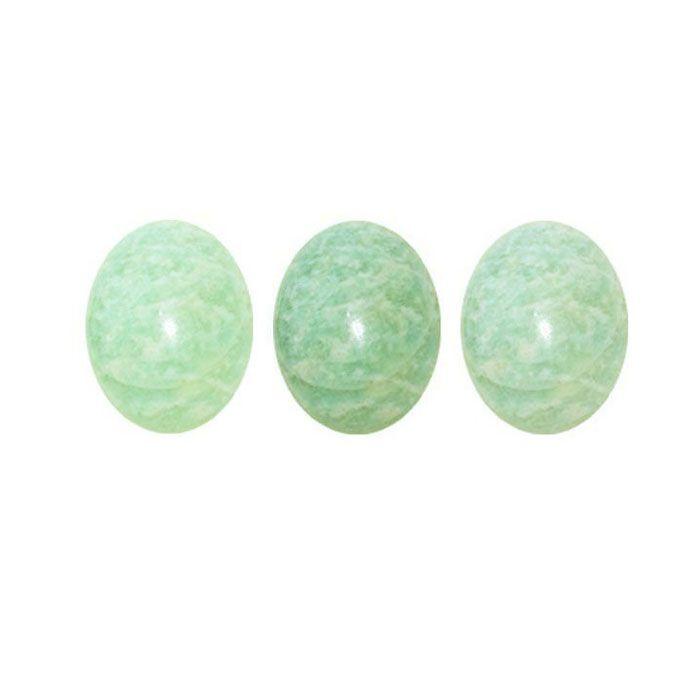 Cabochão de Amazonita Oval 18x15mm - 01 peça - CAB_286  - ArtStones