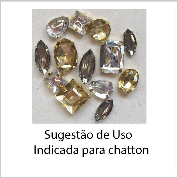 Caixa Engrampada Redonda Tamanhos Variados F. Ouro - Pacote - CXE_110  - ArtStones