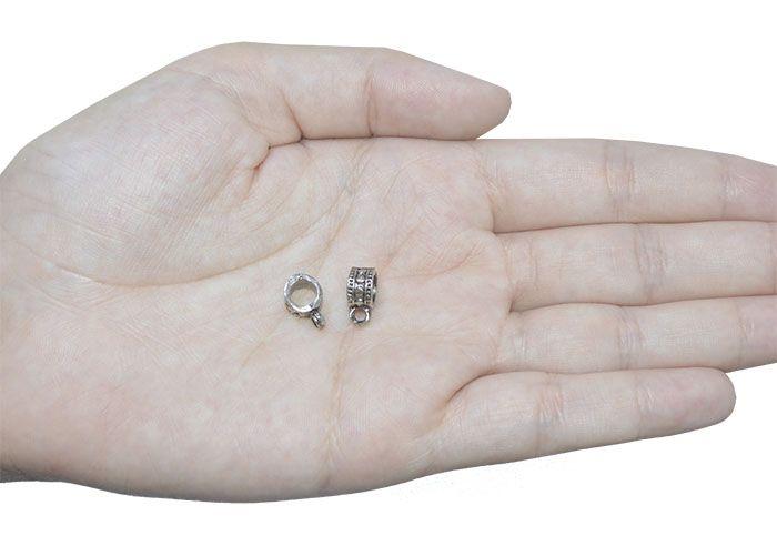 Caneca de Metal Envelhecido 11x5mm - 20 Peças - ACM_205  - ArtStones