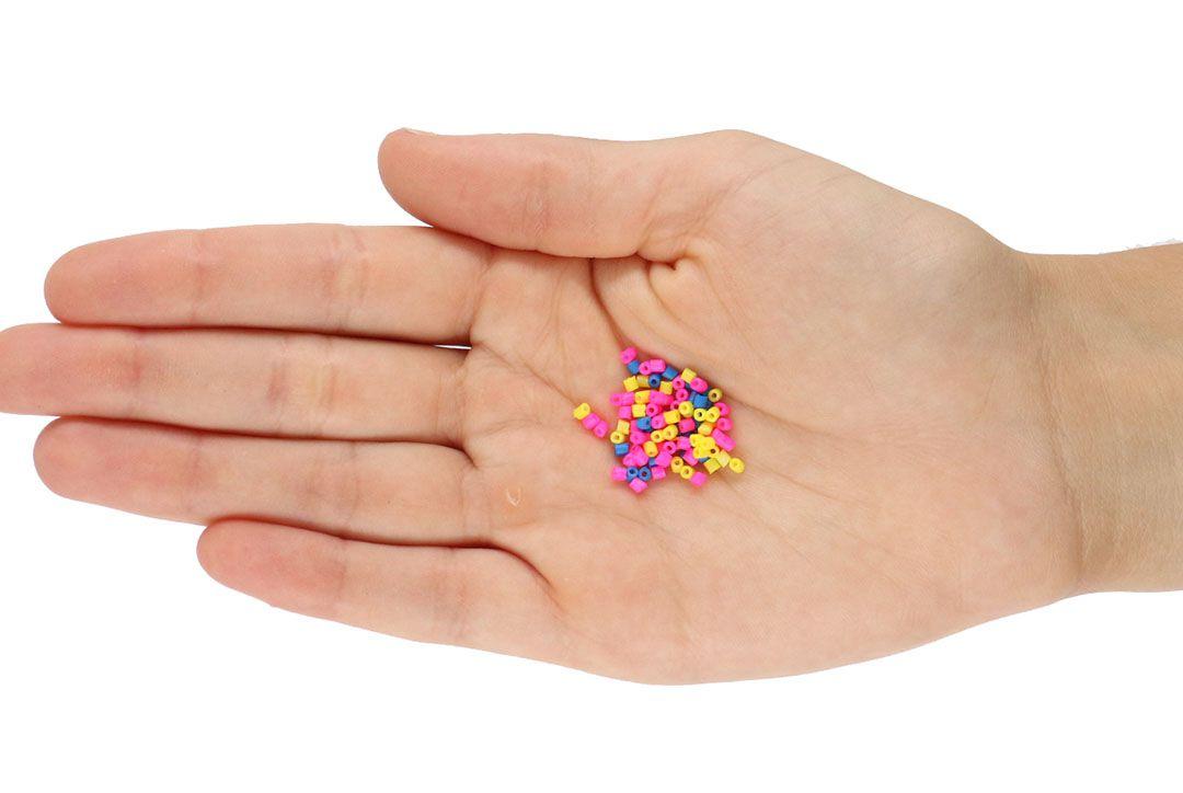 Mini Canutilho Clay Colorido Tipo Fimo 2mm Ecológico - 15 GRAMAS - OM019  - ArtStones
