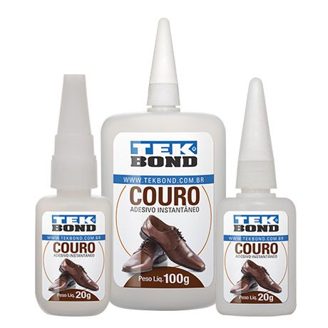 Cola Tekbond para Couro Natural ou Sintético - 20gr - CL_106  - ArtStones