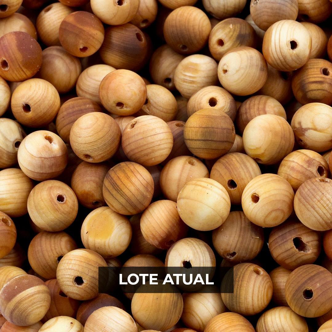 Contas de Arborvitae Natural 8mm - Pacote - CM030  - ArtStones