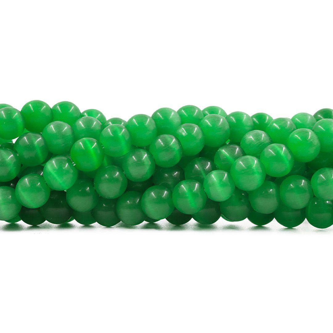 Olho de Gato Verde Esferas Tamanhos Variados - OM062  - ArtStones