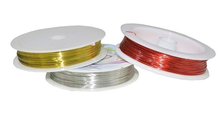 Arame Colorido Espessura 0.37mm (banho chines) - MM088  - ArtStones