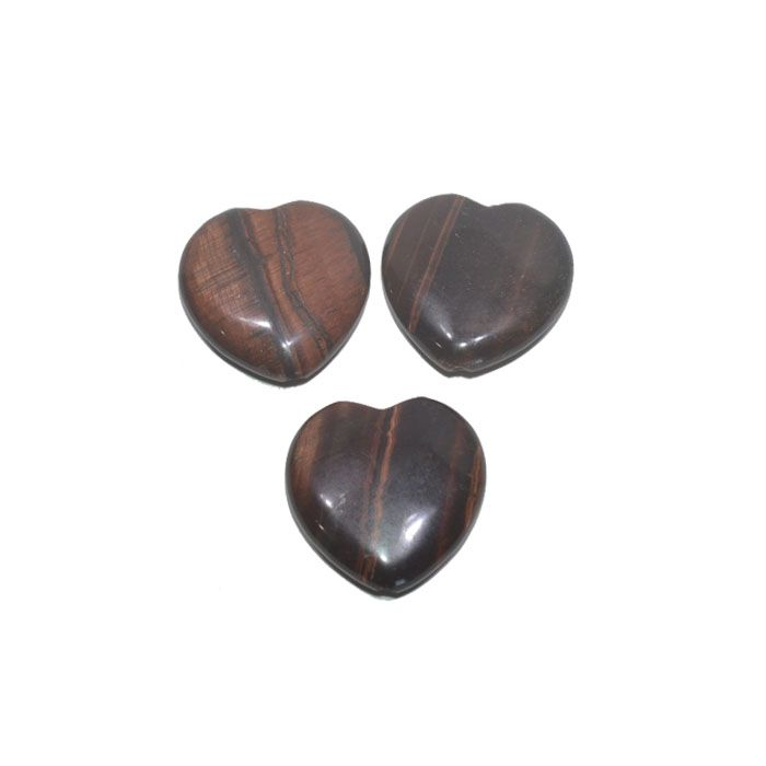 Coração de Olho de Boi 18 e 25mm - 1 Peça - PMO_568  - ArtStones