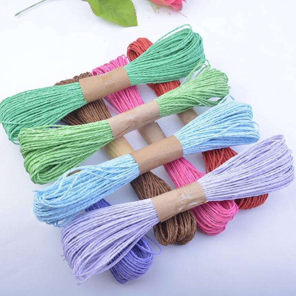 Cordão de papel Colorful Diy 2mm Cores Variadas - Maço 20mts - MM100  - ArtStones
