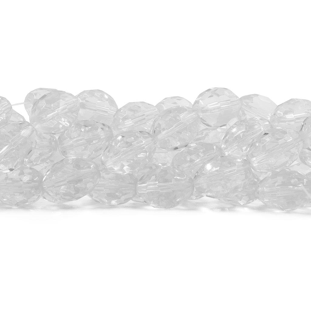 Cristal de Vidro Barril  Facetado Extra 16x12mm - 21 Cristais - CV032  - ArtStones