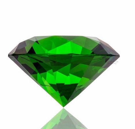 Diamante de Cristal Luminnous 58mm - 01 peça - CL056  - ArtStones