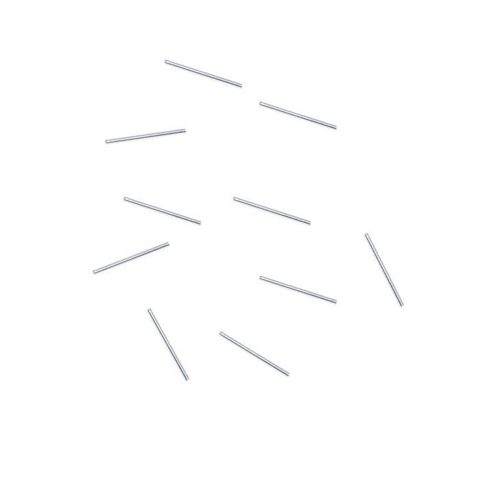 Entremeio Canutilho de Prata 925 Liso 5x1.5mm - 10 peças - EP_21  - ArtStones