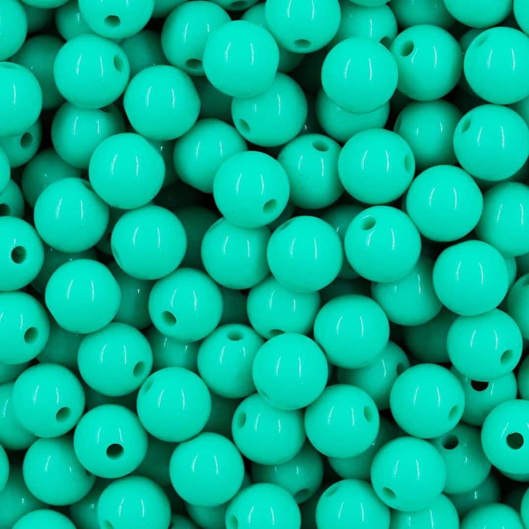 Esfera de Acrílico 8mm Cores Variadas - 50 GRAMAS  - OM012  - ArtStones