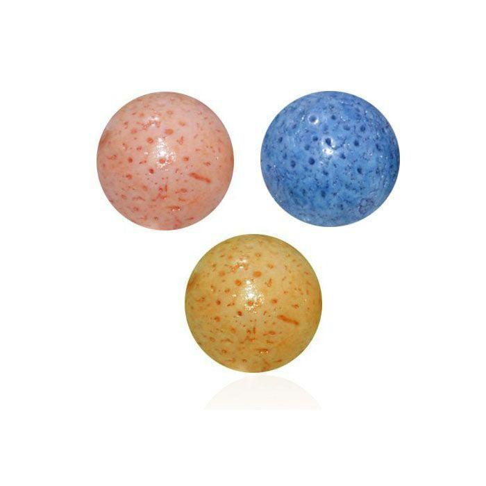 Esfera de Coral Esponja 14mm Avulsa - 06 Peças - PA086  - ArtStones