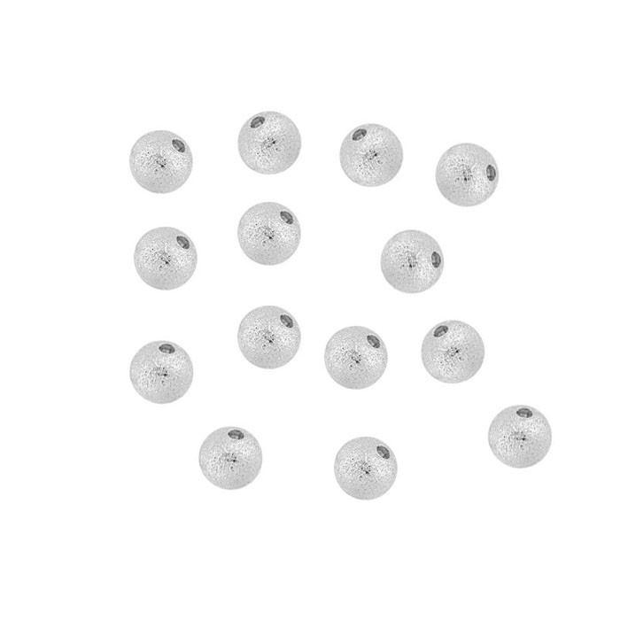 Esfera Jateada 2.5mm Folheada - 2 Gramas - FO260  - ArtStones