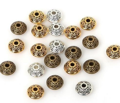 Espaçador para Pulseira de Metal Envelhecido 6x3mm - 20 peças - AM086  - ArtStones