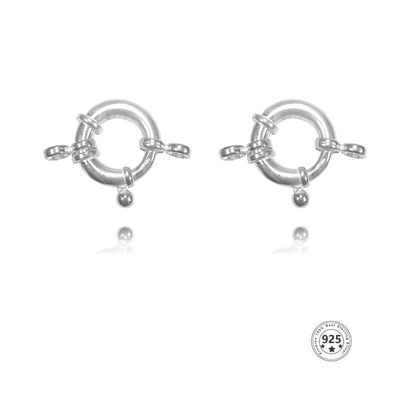 Fecho Bóia 15mm em Prata 925 Italiana - 1 Peça - PR150  - ArtStones