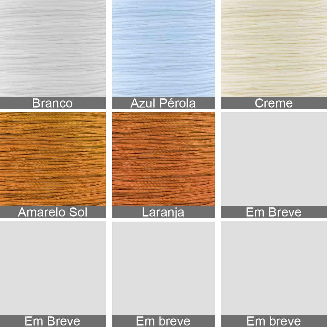 Fio Cordão Rayon 1mm Cores Variadas - ROLO - MM027  - ArtStones