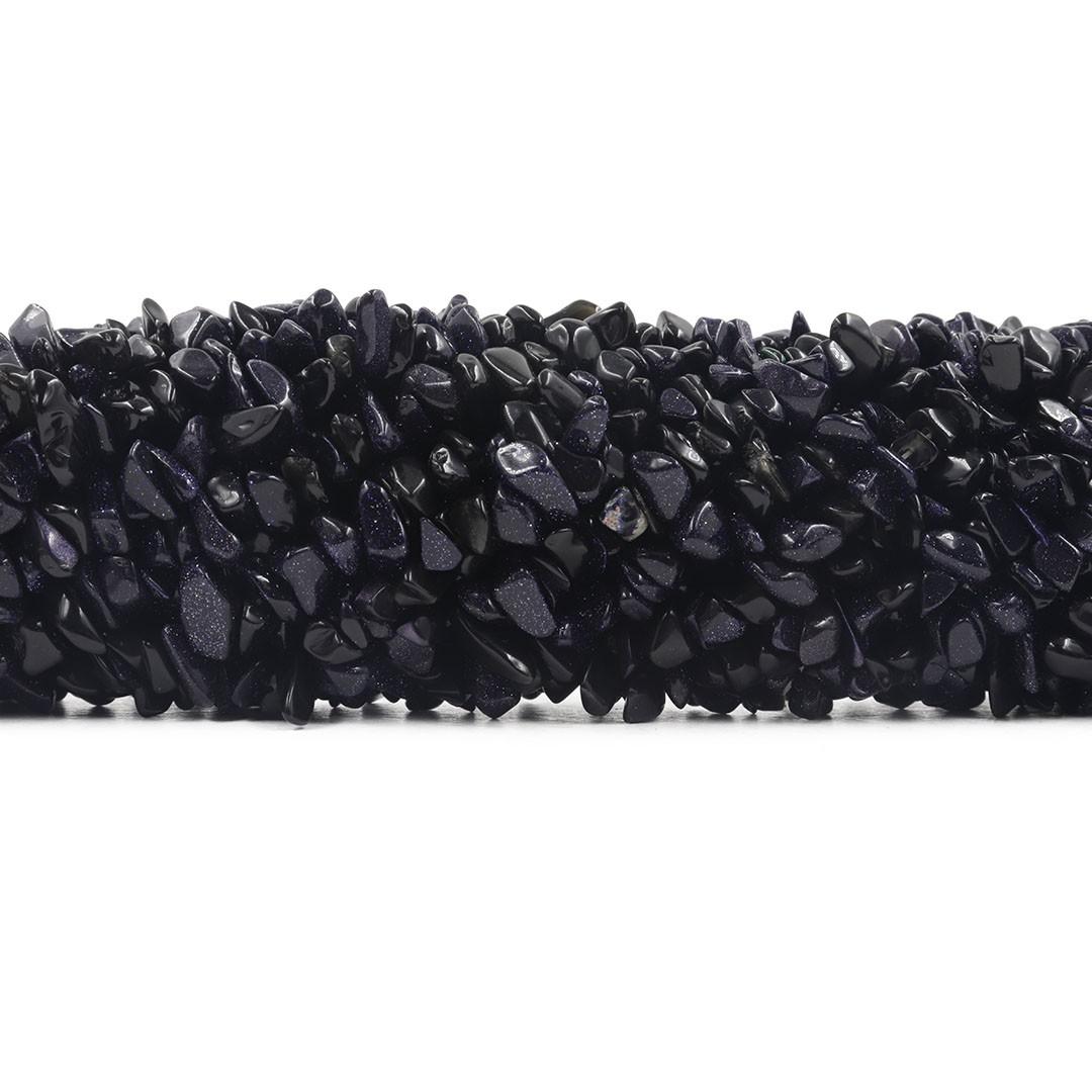Fio de Cascalho de Pedra Estrela  - FC007  - ArtStones