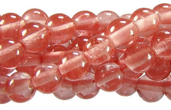 Cristal Cherry Fio com Esferas de 6mm - FESF_107/6  - ArtStones