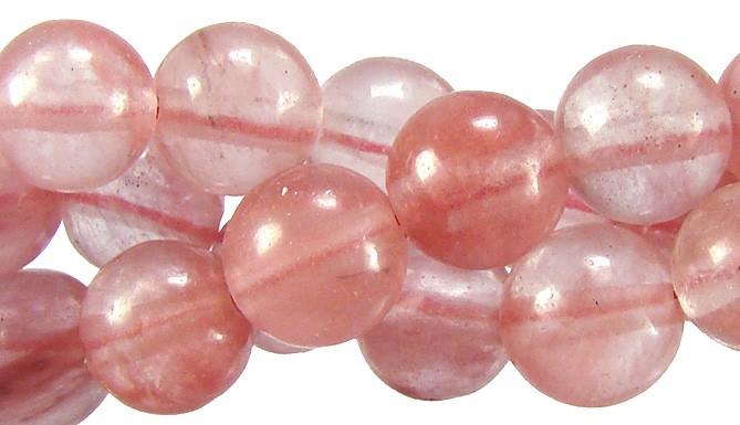 Cristal Cherry Fio com Esferas de 8mm - FESF_107/8  - ArtStones
