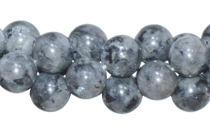 Labradorita Natural Fio com Esferas de 10mm - F479  - ArtStones