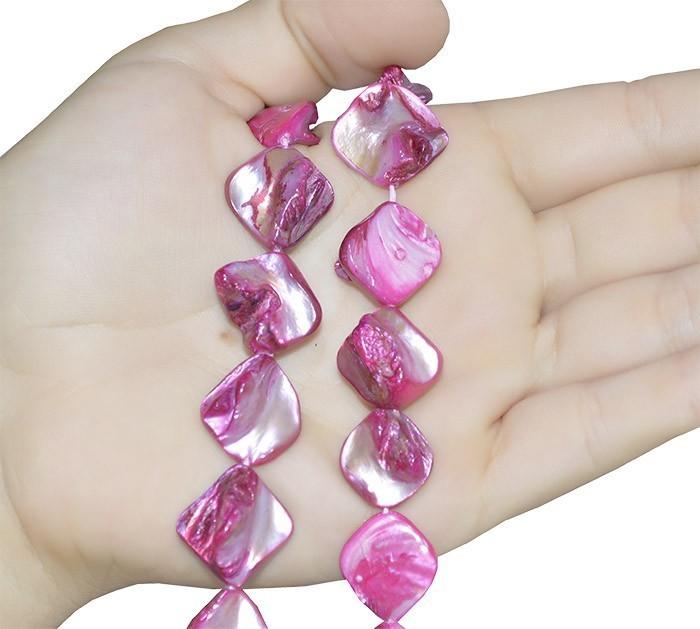 Madrepérola Losango  Rosa Pink - FMP_113  - ArtStones