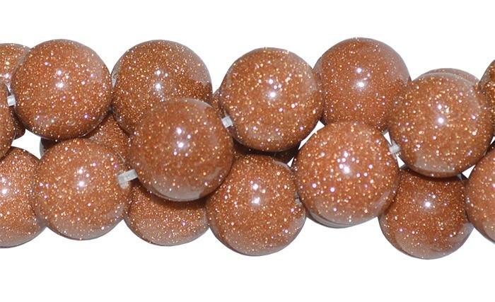 Pedra do Sol Fio com Esferas de 10mm - F241  - ArtStones