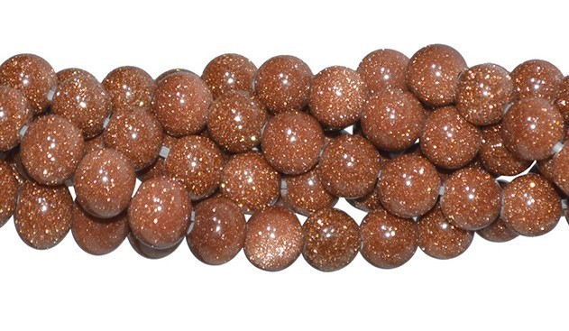 Pedra do Sol Fio com Esferas de 6mm - F239  - ArtStones
