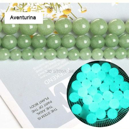 Jade Fluorescente Summer Collors 8mm - F690  - ArtStones