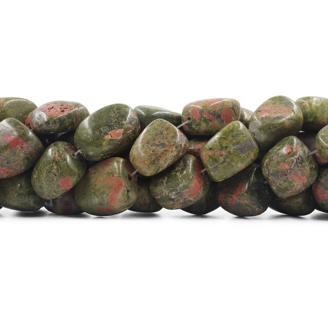 Fio de Unakita Natural Rolada - RO022  - ArtStones
