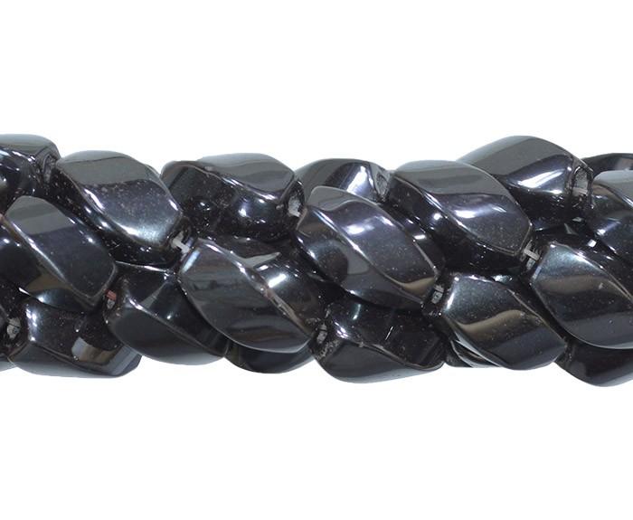 Hematita Carambola 16X8MM - FH070  - ArtStones