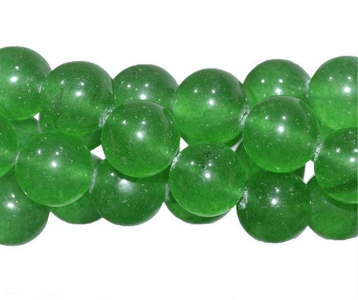 Jade Esmeralda Fio com Esferas de 12mm - FESF_370/12  - ArtStones