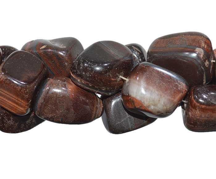 Fio de Olho de Boi Natural Rolado - RO021  - ArtStones