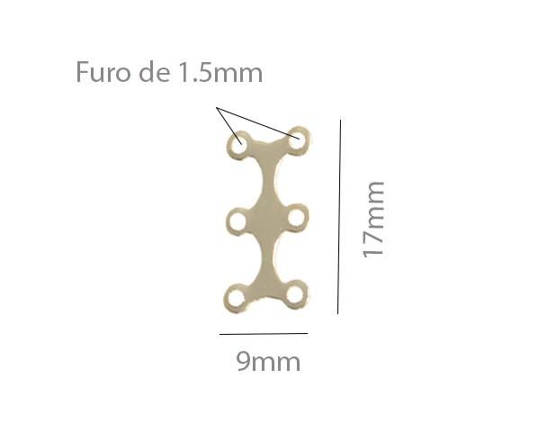 Garfinho 17x9mm Folheado - 2grs - FO248  - ArtStones