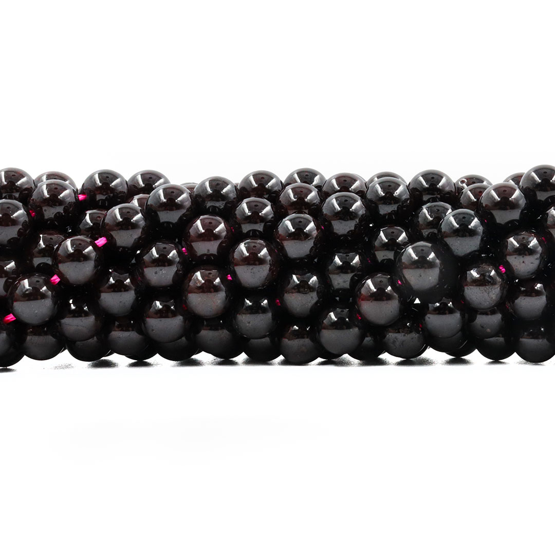 Granada Dark Natural Extra Esferas de 6.5 a 6.8mm - F257  - ArtStones