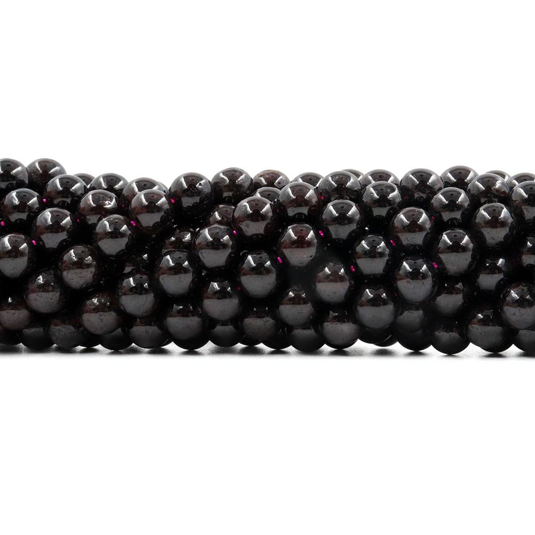 Granada Dark Natural Extra Esferas de 7 a 7.5mm - F174  - ArtStones