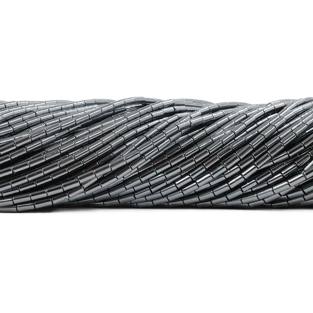 Hematita Canutilho 4x2mm - FH084  - ArtStones