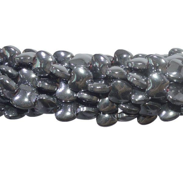 Hematita Maçã 6x5mm - FH016  - ArtStones
