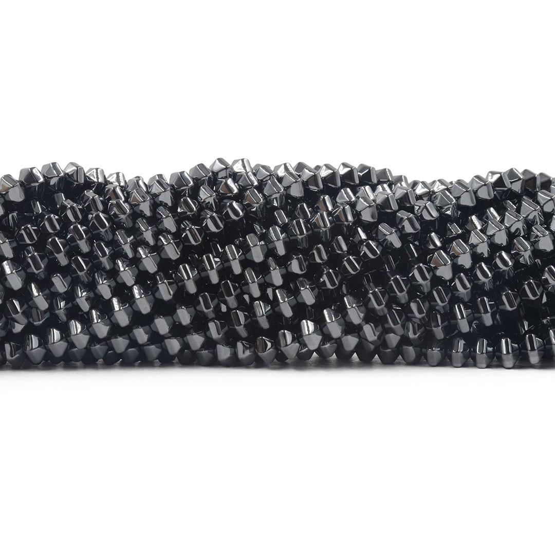 Hematita Pião 5mm FH082  - ArtStones