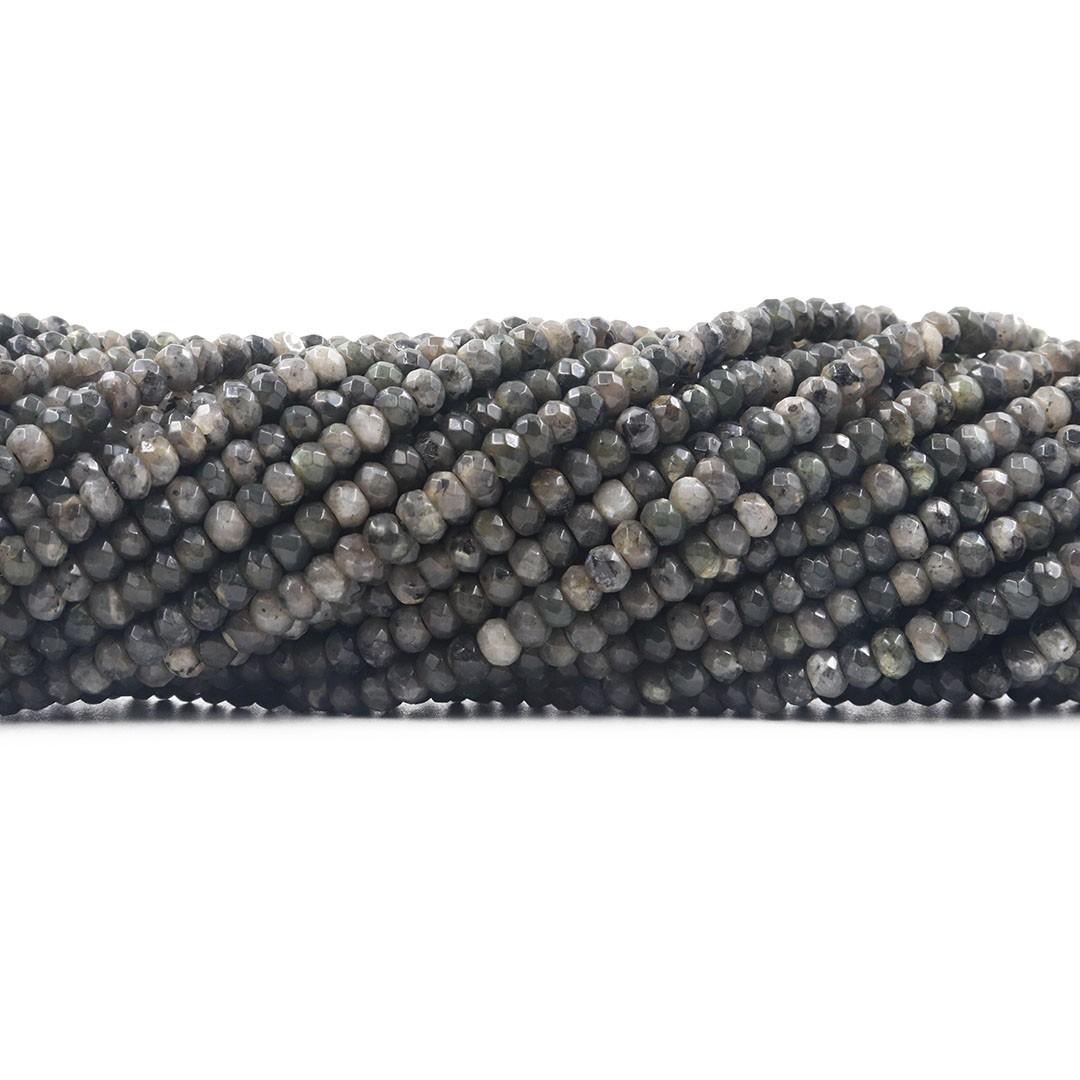 Labradorita Formato Briolet Facetado de 4mm - F650  - ArtStones