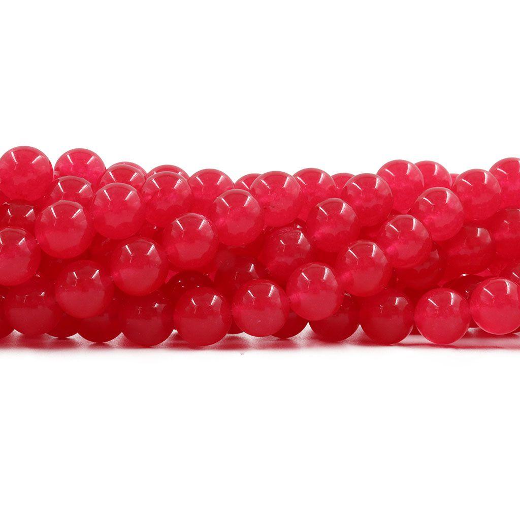 Jade Tutti Frutty Fio com Esferas de 10mm - F367  - ArtStones