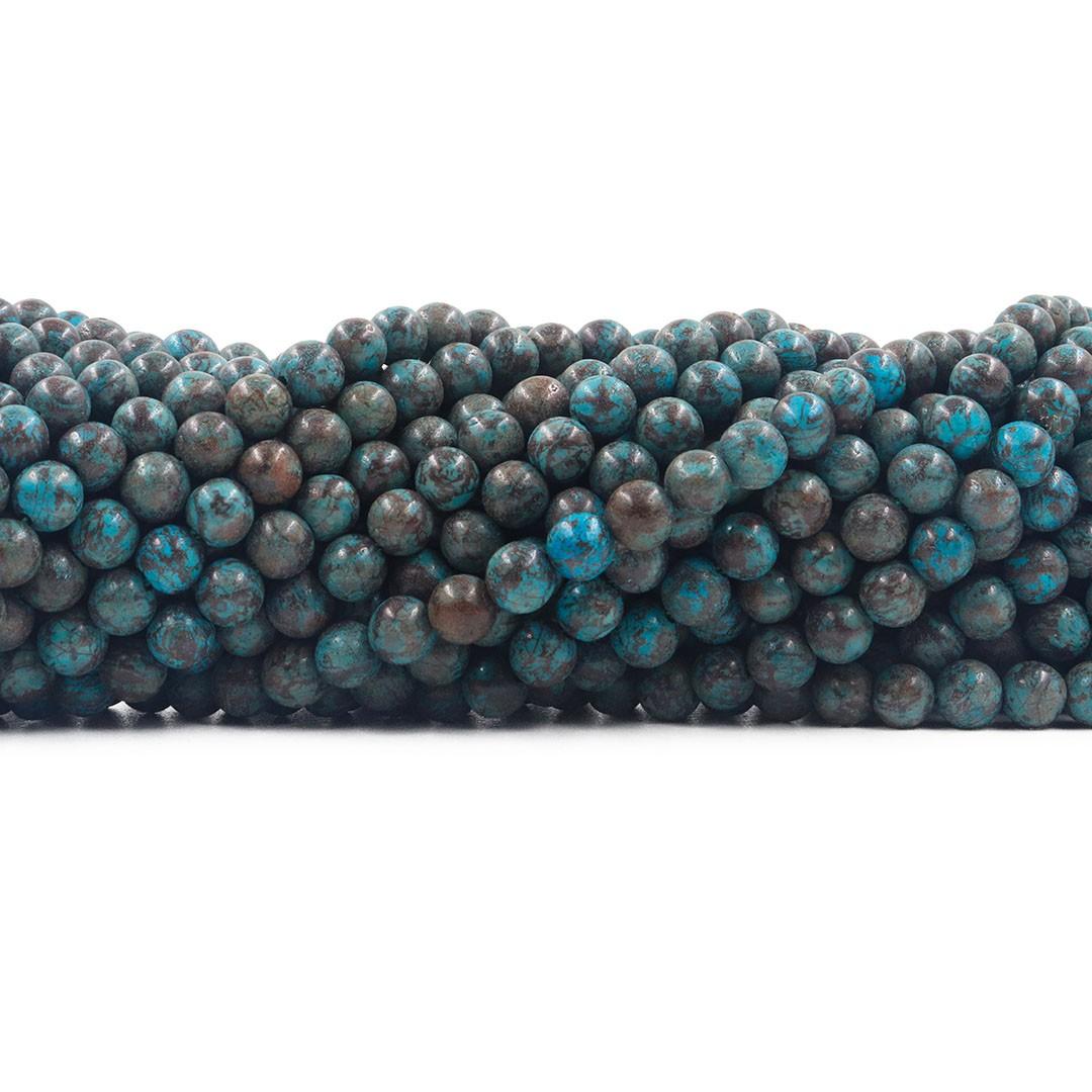 Jaspe Lago Azul fio com esferas de 4.6mm - F407  - ArtStones