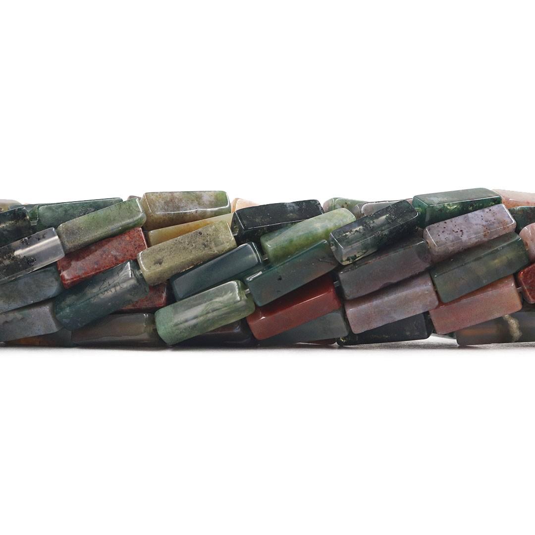 Jaspe Oceânico  Formato Filete 13x5mm - F033  - ArtStones