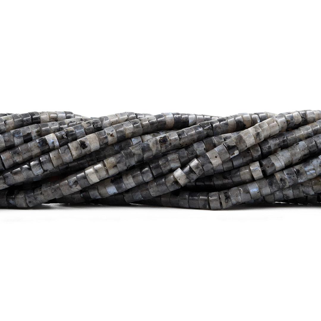 Labradorita Natural Formato Disco 4.5x2mm - F724  - ArtStones
