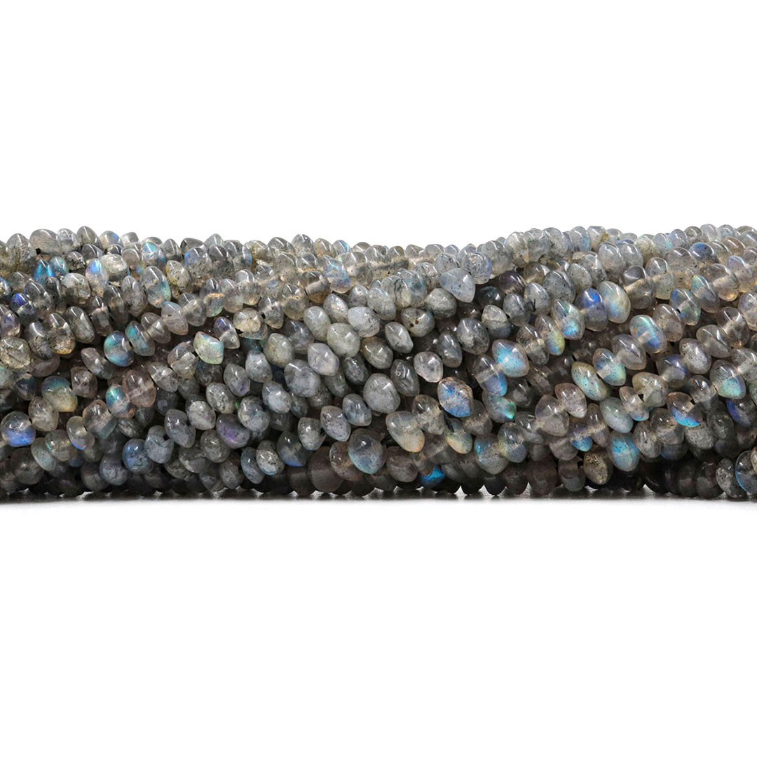 Labradorita Mini Botão 4.5mm Tamanho Irregular - F836  - ArtStones