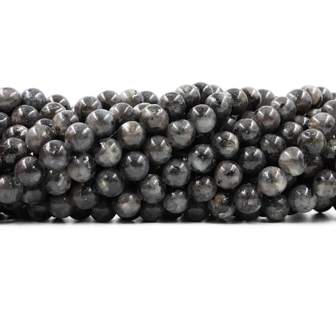 Labradorita Natural Fio com Esferas de 8mm - F478  - ArtStones