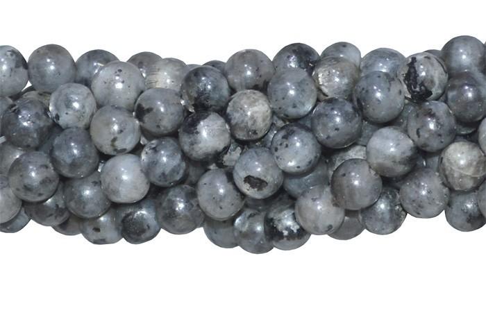 Labradorita Natural Fio com Esferas de 6mm - F477  - ArtStones