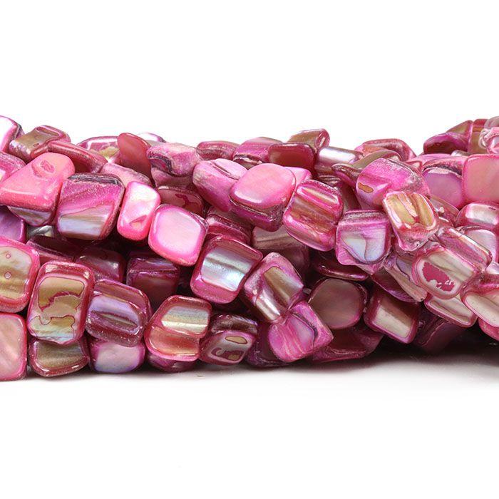 Madrepérola Lasca cor Rosa - PM112  - ArtStones