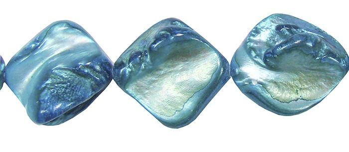 Madrepérola Losango Azul - FMP_110  - ArtStones
